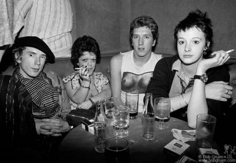 Johnny Rotten, Steve Jones and Friends, London - 1976
