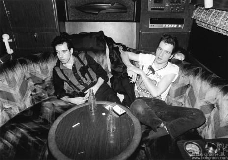 Mick Jones and Joe Strummer, USA - 1980