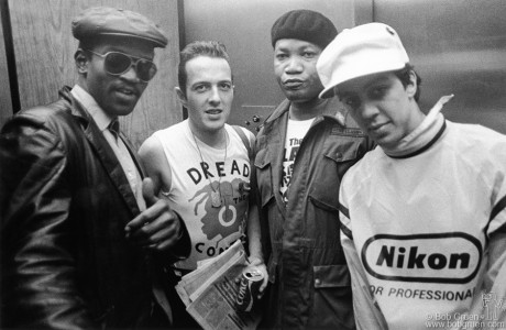 Joe Strummer, Fab Five Freddy, Raymond Jordan & Futura 2000, NJ - 1982