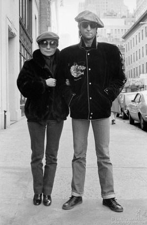 John Lennon & Yoko Ono, NYC - 1980