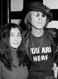 John Lennon and Yoko Ono, NYC - 1971