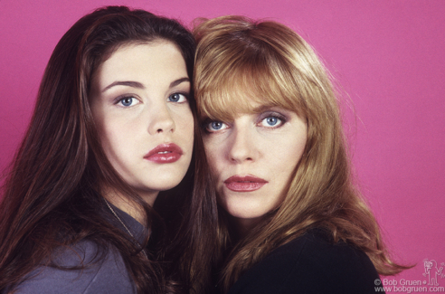 Liv Tyler and Bebe Buell, NYC - 1991