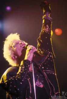 Billy Idol, NYC - 1987