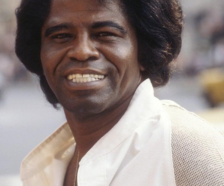 James Brown, Sherry Netherland Hotel, NYC. June 15, 1980. <P>Image #: C-112  © Bob Gruen