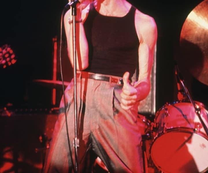 Robert Gordon, Bottom Line, NYC. August 1977. <P>Image #: C-118  © Bob Gruen