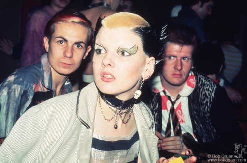 Simon, Soo Catwoman and Marco Pirroni, London - 1976
