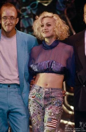 Keith Haring & Madonna, NY - 1989