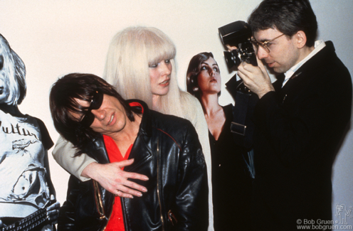 Iggy Pop, Debbie Harry and Chris Stein, NYC - 1982