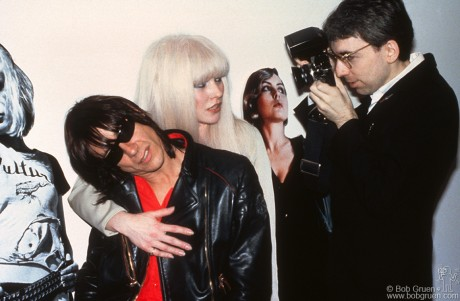 Iggy Pop, Debbie Harry & Chris Stein, NYC - 1982