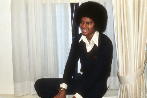 Michael Jackson, NYC - 1977