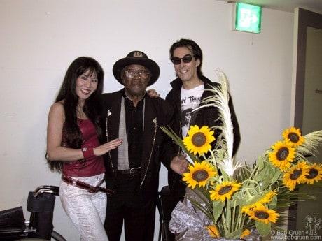Sheena, Bo Diddley & Makoto Ayukawa, Tokyo - 2001