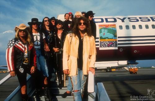Bon Jovi and Motley Crue, Moscow - 1989