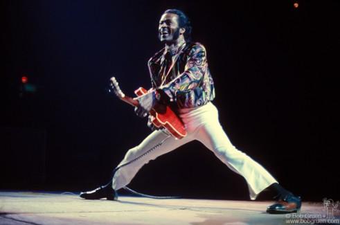Chuck Berry, NYC - 1973