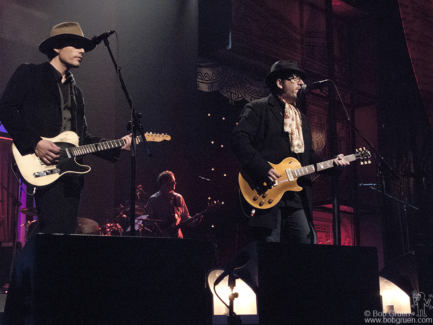 Jakob Dylan and Elvis Costello, NYC - 2008