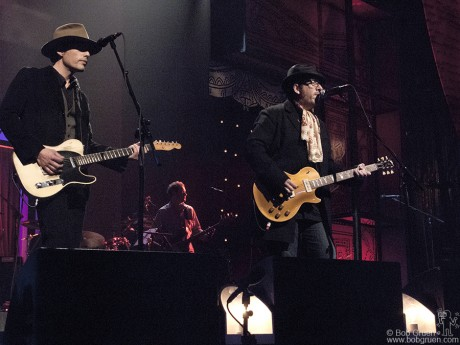 Jakob Dylan & Elvis Costello, NYC - 2008