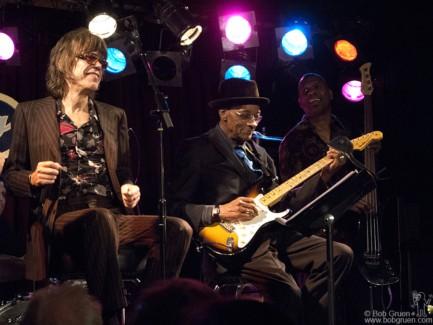 David Johansen and Hubert Sumlin, NYC - 2008