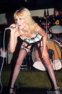 Cherie Currie, NY - 1976