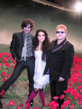 Ryan Adams, Leona Naess & Elton John, NYC - 2002