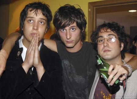 Julian Casablancas, Nick Valensi & Sean Lennon, NYC - 2004