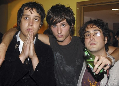 Julian Casablancas, Nick Valensi & Sean Lennon, NYC - 2004