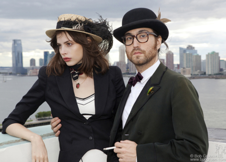 Charlotte Kemp Muhl and Sean Lennon, NYC - 2010