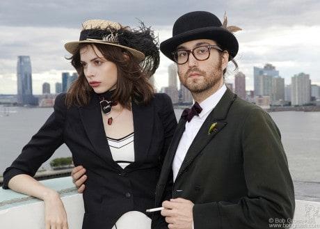 Charlotte Kemp Muhl & Sean Lennon, NYC - 2010
