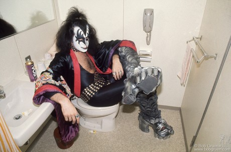 Gene Simmons, NYC - 1977