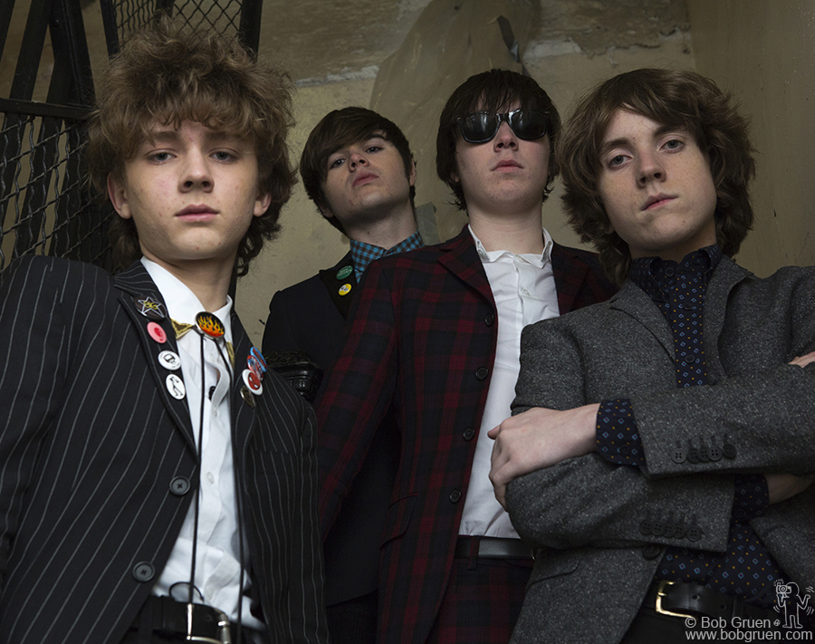 March 14 - Austin, TX - The Strypes are the hottest new group I saw during SXSW. I met them there at the Lou Reed tribute and a few days later they came to my studio in New York for a photo session.