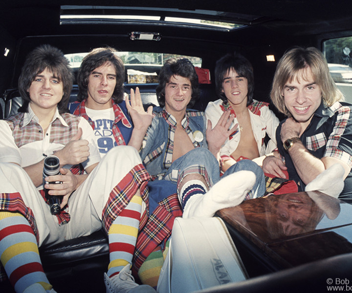 Bay City Rollers, NYC. September 30, 1975. <P>Image #: C-60  © Bob Gruen