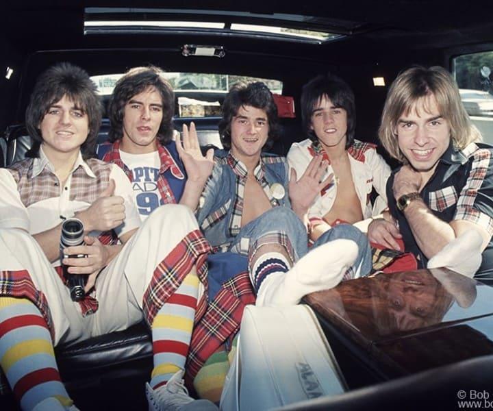 Bay City Rollers, NYC. September 30, 1975. <P>Image #: C-60  © Bob Gruen