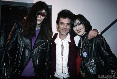 Joey Ramone, Dee Dee Ramone and Joan Jett, NYC - 1993