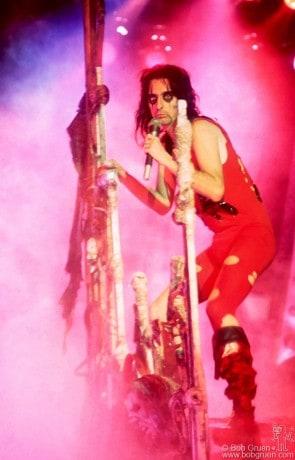 Alice Cooper, NYC - 1975