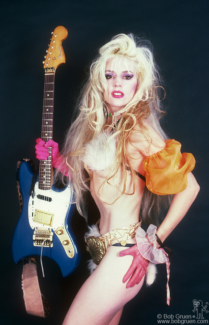 Phoebe Legere, NYC - 1987