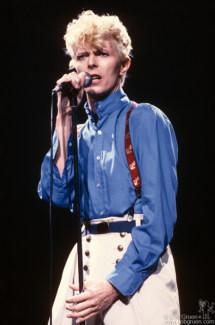 David Bowie, NYC - 1983