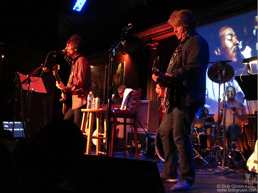 Nov 7- NYC - Ronnie Wood & Mick Taylor came to the Cutting Room for two nights of amazing blues.