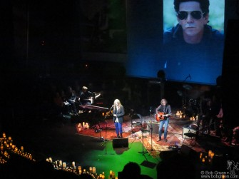 December 16 - Patti Smith was one of the many performers who paid tribute to Lou Reed at the memorial at the Apollo Theater.