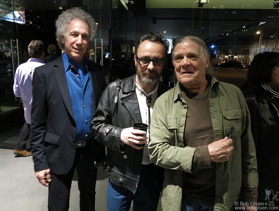 Jan 23 - Los Angeles - I caught up with Dave Brolan & Henry Diltz at the Jim Marshall exhibit opening at Leica Gallery in Los Angeles, CA.
