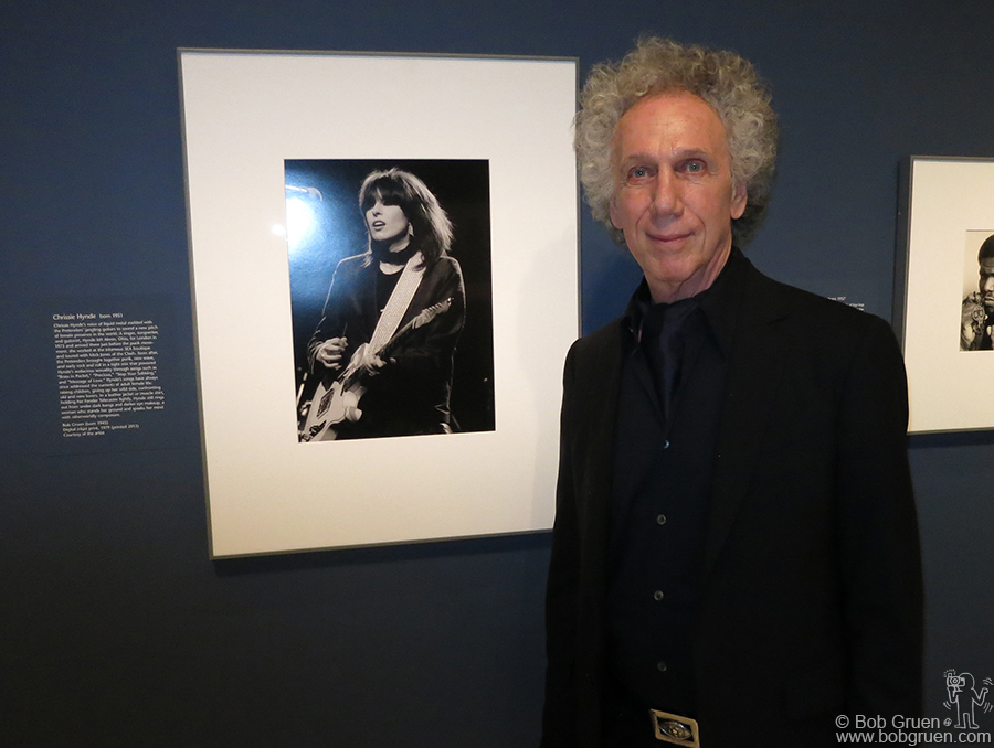Feb 6 - Washington D.C. - My photo of Chrissie Hynde was included in the 'American Cool' exhibition at the National Portrait Gallery in Washington D.C.