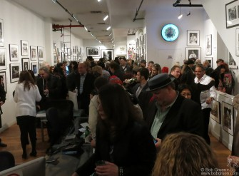 April 3rd - NYC - The opening night was a great party. It was crowded all night and everyone was talking about the new 'teenage bedroom' installation, the wall of contact prints and the new silkscreens.