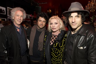 October 23 - Billie Joe Armstrong, Debbie Harry & Jesse Malin helped me celebrate my birthday at R Bar. Photo by David Appel.