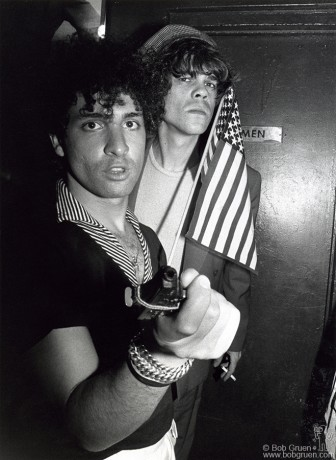 Syl Sylvain & David Johansen, NYC - 1976