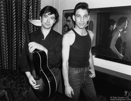 Chris Spedding and Robert Gordon, NYC - 1978