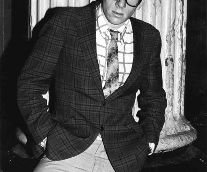 Elvis Costello, 100 Club in London, England. November 1977. <P>Image #: R-146  © Bob Gruen