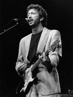 Eric Clapton, NYC - 1985