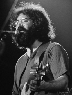 Jerry Garcia, NYC - 1971