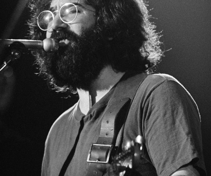 Jerry Garcia, NYC. November 1971. <P>Image#: R-241  © Bob Gruen