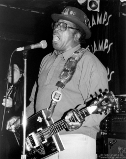 Bo Diddley, NYC - 1992