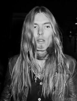 Gregg Allman, NYC - 1974