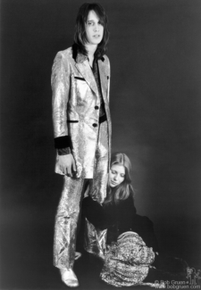 Todd Rundgren and Bebe Buell, NYC - 1972