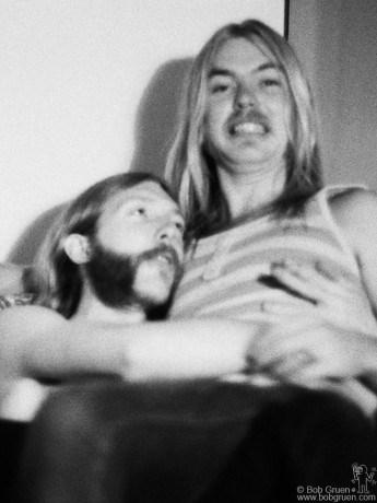 Duane Allman & Gregg Allman, NYC - 1971